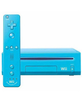Nintendo Wii Model 2 Refurbished System Blue
