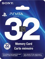 PlayStation Vita 32GB Memory Card