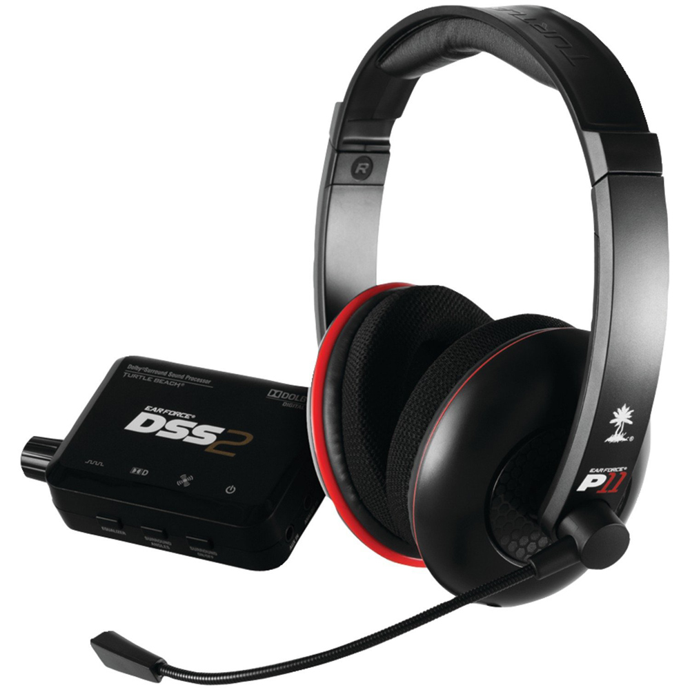 PlayStation 3 Turtle Beach Ear Force DP11 Gaming Headset