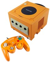 Nintendo GameCube System Orange