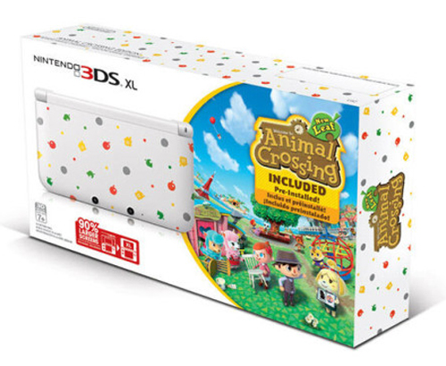 Nintendo 3DS XL System Animal Crossing Bundle