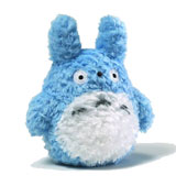 My Neighbor Totoro Fluffy Medium 8 Inch Blue Plush