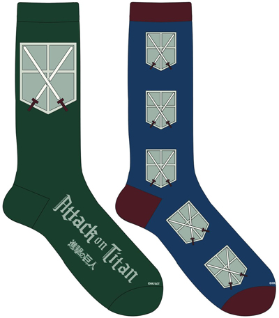 Attack on Titan Cadet Socks