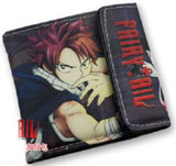Fairy Tail: Natsu Dragneel Black Canvas Wallet