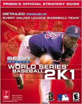 World Series Baseball 2K1 Official Strategy Guide Book