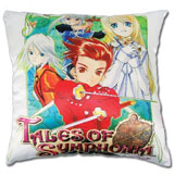 Tales of Symphonia: Group Square Pillow