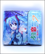 Hatsune Miku: Blue Canvas Wallet