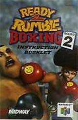 Ready 2 Rumble Boxing: Round 2 (Instruction Manual)