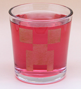 Arts & Crafts: Minecraft Creeper Custom-made 13oz Glass