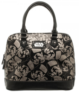 Star Wars Trooper Dome Satchel with Darth Vader Charm