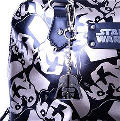 Star Wars Storm Troopers Handbag with Darth Vader Charm