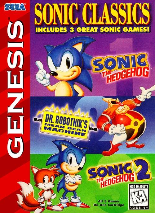 Buy Sega Genesis Sonic Classics Estarland Com