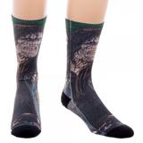 Suicide Squad Killer Croc Sublimated Crew Socks