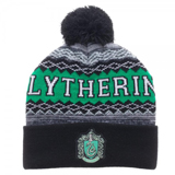 Harry Potter Slytherin Cuff Pom Beanie