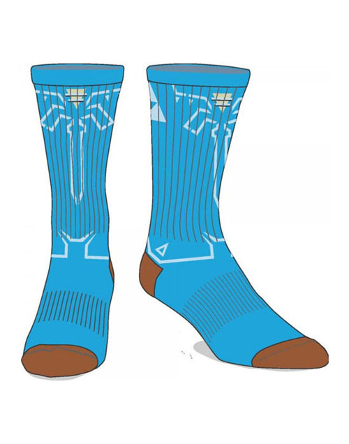 Legend of Zelda Breath of the Wild Crew Socks