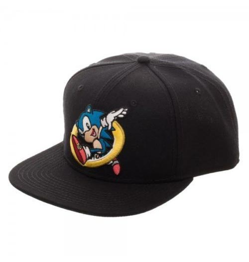 Sonic the Hedgehog Embroidered Snapback