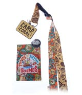 Spongebob Squarepants Kamp Koral Friendship Lanyard