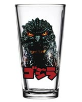 Godzilla Face Toon Tumblers Pint Glass