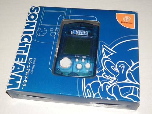Dreamcast Sonic Team VMU by Sega