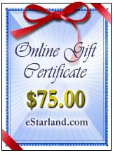 Online Gift Certificate $75