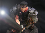 Berserk Guts Maken Limited Edition Resin Statue