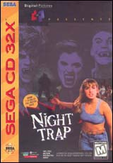 Night Trap / 32X CD