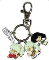 Inu Yasha Group Metal Keychain