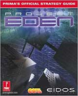 Project Eden Official Strategy Guide Book