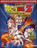 Dragon Ball Z: The Legacy of Goku Official Strategy Guide