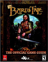 Bard's Tale Official Strategy Guide Book