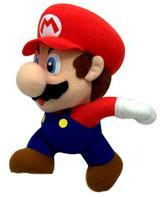Super Mario 6 Inch Mario Plush