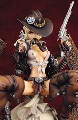 Masamune Shirow Wild Wet West 1/6 Scale PVC Statue