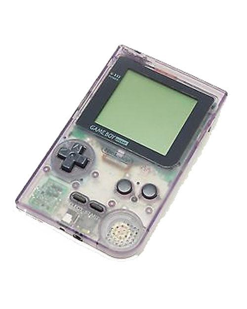 Nintendo Game Boy Pocket System Clear