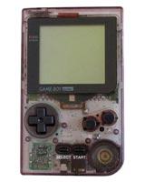 Nintendo Game Boy Pocket System Clear