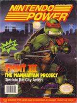 Nintendo Power Volume 33: TMNT III