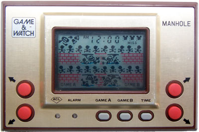 Game & Watch Gold Series: Manhole
