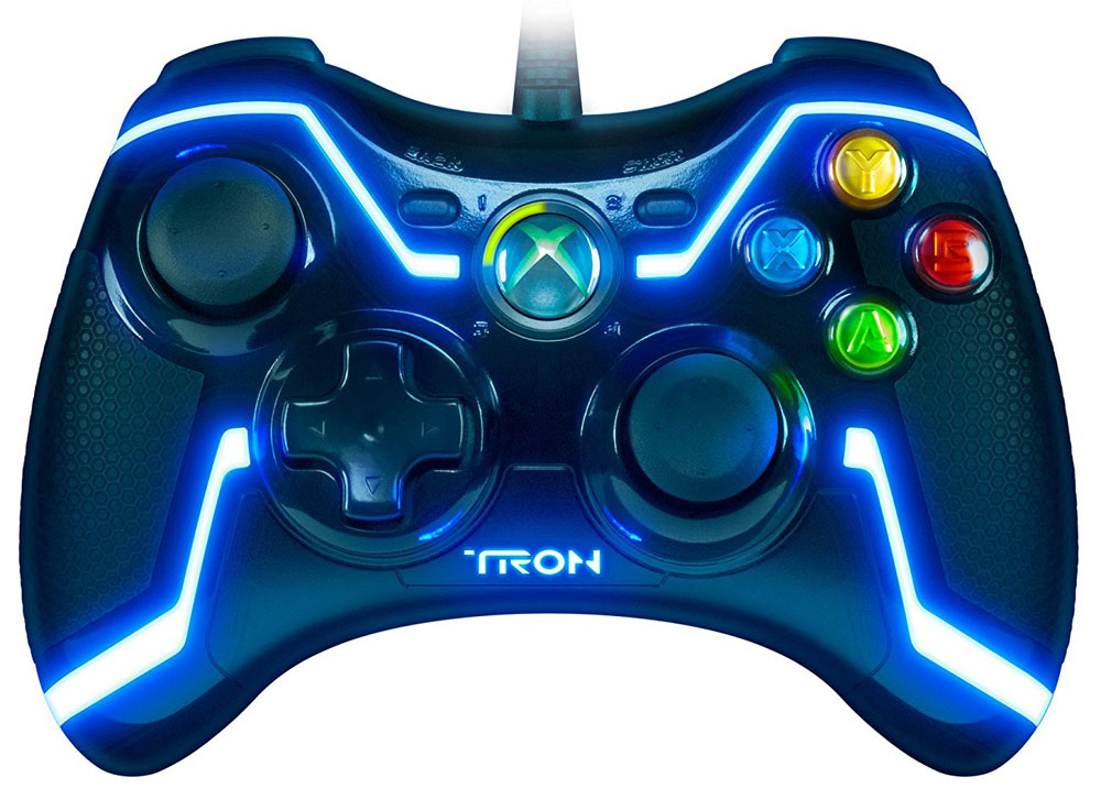 Xbox 360 Tron Collector's Edition Wired Controller