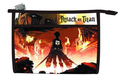 Attack on Titan Key Art Bag