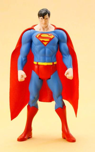 DC UNIVERSE SUPERMAN CLASSIC COSTUME ARTFX+ STATUE