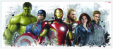 Avengers Age of Ultron Giant Wall Decal