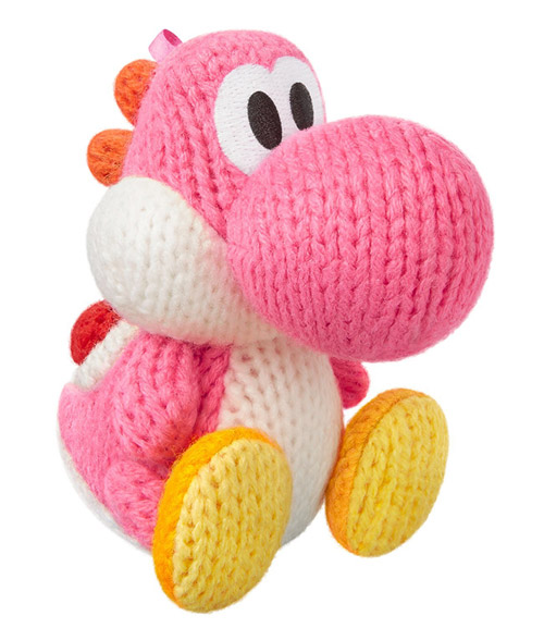 amiibo Pink Yarn Yoshi Yoshi's Woolly World