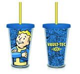 Fallout Blue Vault Boy Carnival Cup