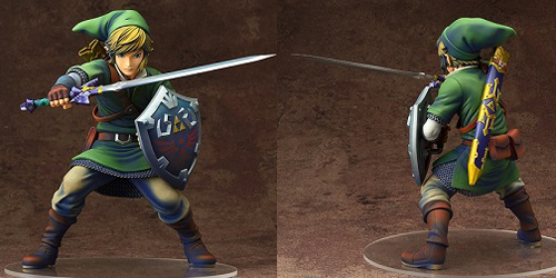 Legend of Zelda Skyward Sword Link 1/7 Scale PVC Figure