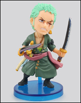 One Piece WCF Fight Zoro 2 1/2 Inch Figure
