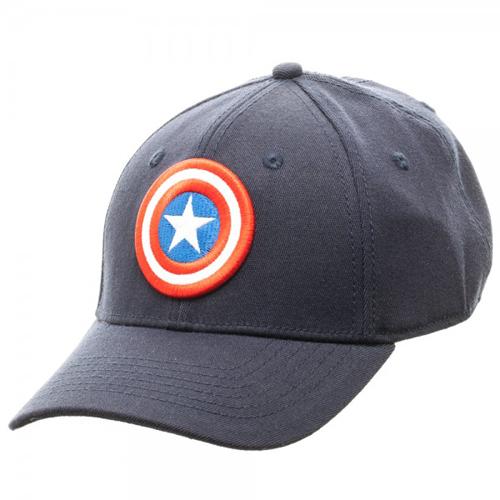 Captain America Blue Flex Cap