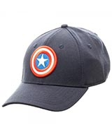 Captain America Blue Flex Cap