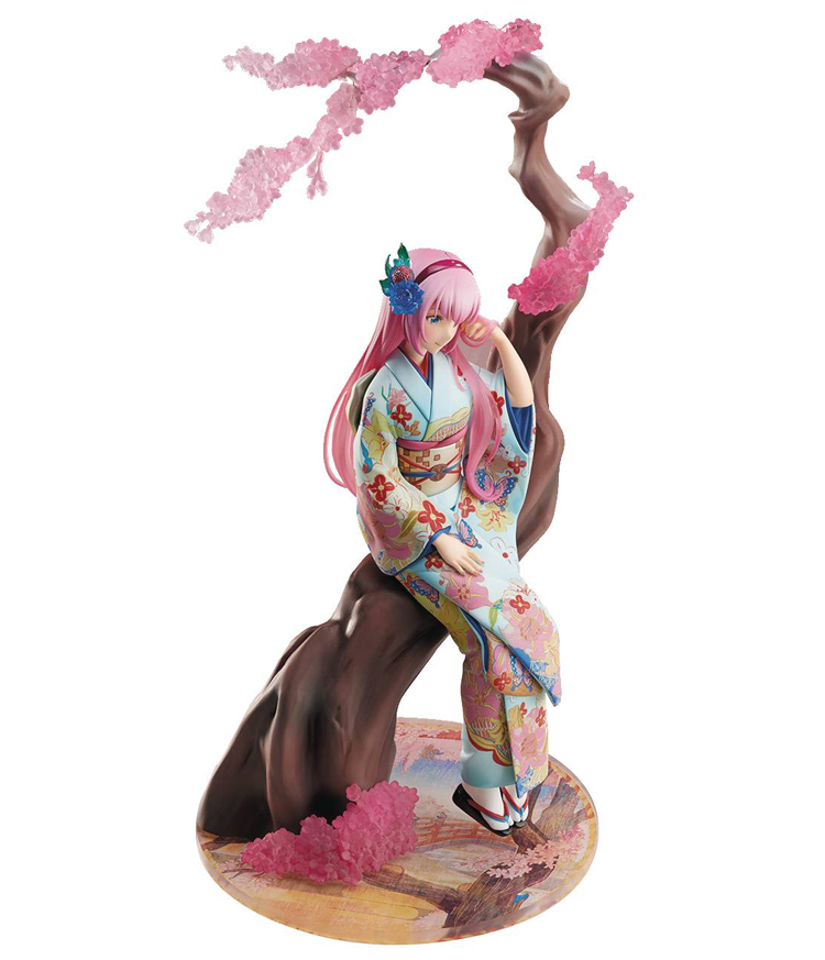 Vocaloid Megurine Luka Flower Kimono 1/8 Scale Figure