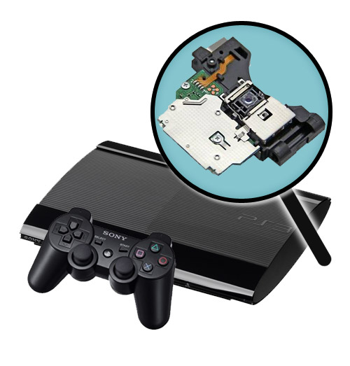 PlayStation 3 Super Slim Repairs: Laser Pickup Replacement Service