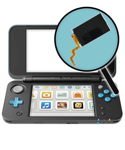 Nintendo New 2DS XL Repairs: Top LCD Screen Replacement Service