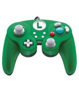 Nintendo Switch Wired Fight Pad Pro Controller: Luigi